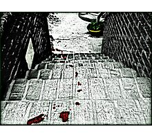 The Trail of Murder Photographic Print