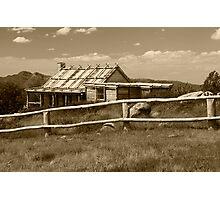 Craigs Hut  Photographic Print