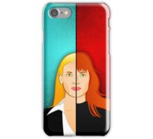 Olivia VS Fauxlivia iPhone Case iPhone Case/Skin