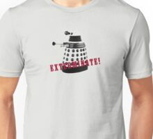 Doctor Who, Dalek, exterminate! Unisex T-Shirt