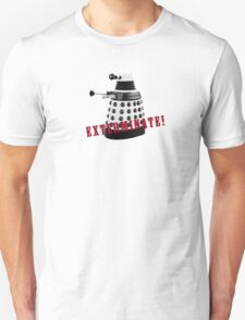 Doctor Who, Dalek, exterminate! T-Shirt