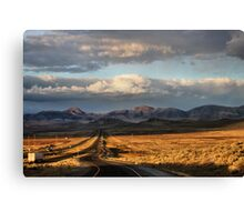 The Get-on Ramp Canvas Print