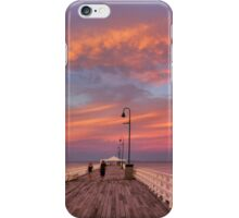 Shorncliffe Sunset 2 iPhone Case/Skin