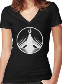 Bioshock Rapture Women's Fitted V-Neck T-Shirt