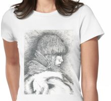 Winter, winter.... so what Womens Fitted T-Shirt