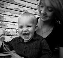 Taisha & Her Baby Boy - Portrait by Rachel McClure