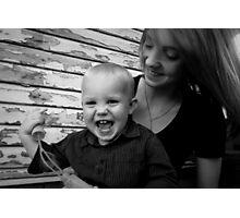 Taisha & Her Baby Boy - Portrait Photographic Print