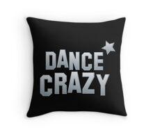 DANCE CRAZY! star Throw Pillow