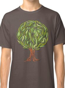 Illusion  tree Classic T-Shirt