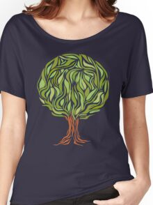 Illusion  tree Women's Relaxed Fit T-Shirt