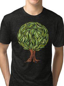 Illusion  tree Tri-blend T-Shirt