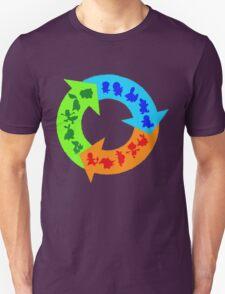 Starter Pokemon Type Shirt T-Shirt