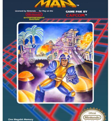 Mega Man 1 nes  Sticker