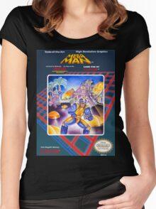 Mega Man 1 nes  Women's Fitted Scoop T-Shirt