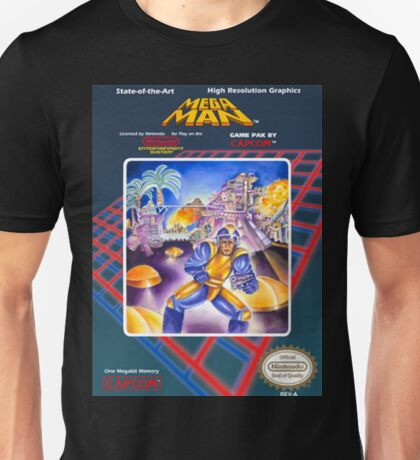 Mega Man 1 nes  Unisex T-Shirt