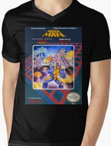 Mega Man 1 nes  Mens V-Neck T-Shirt