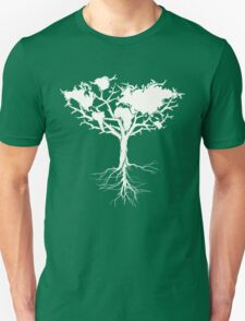 Earth tree *pearl white T-Shirt
