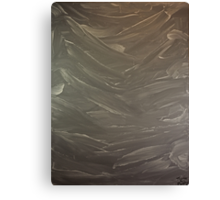 Abstract Valley Canvas Print