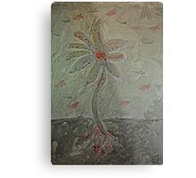 The Metal Flower Metal Print