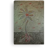 The Metal Flower Canvas Print