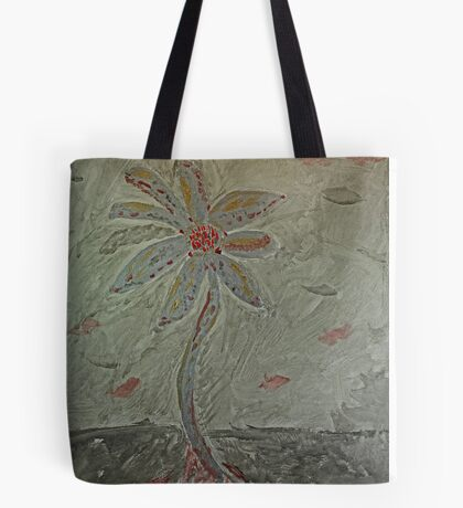 The Metal Flower Tote Bag