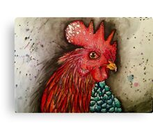 Sassy Rooster Canvas Print