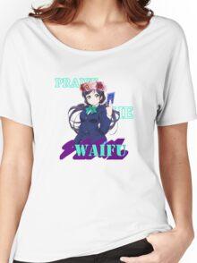 Nozomi - Praise the waifu Women's Relaxed Fit T-Shirt