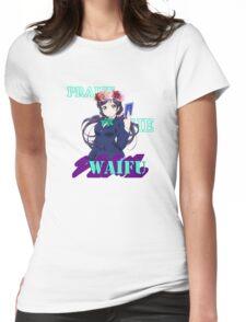 Nozomi - Praise the waifu Womens Fitted T-Shirt