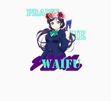 Nozomi - Praise the waifu Women's Fitted Scoop T-Shirt