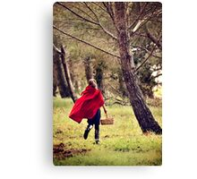 Little Red 6 Canvas Print