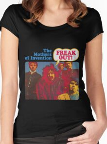 Zappa - Freak Out! Women's Fitted Scoop T-Shirt