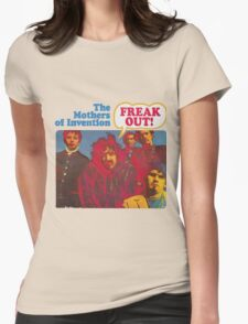 Zappa - Freak Out! Womens Fitted T-Shirt