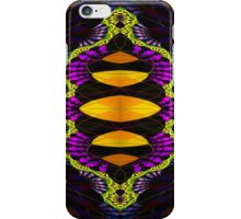 Yellow and Purple iPhone Case/Skin