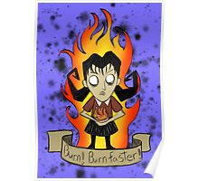 Willow, Don't starve Poster