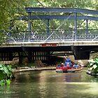 San Antonio River Walk by artstoreroom