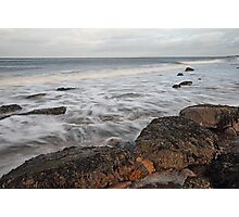 Washed By The Sea Photographic Print