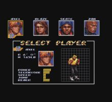 Streets of Rage 3 – Select Axel One Piece - Short Sleeve