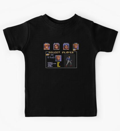 Streets of Rage 3 – Select Zan Kids Tee