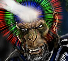 DC COMIC'S GORILLA GRODD ! by Ray Jackson