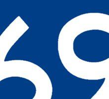 Interstate 69 Sticker