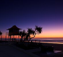 Surfers Paradise Silhouette by Andi Surjanto