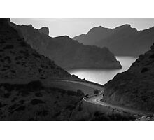 Road to Cap de Formentor Photographic Print