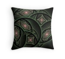 Vintage Treasures Throw Pillow