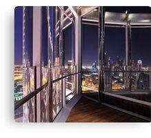 Burj Khalifa Mirrors Canvas Print
