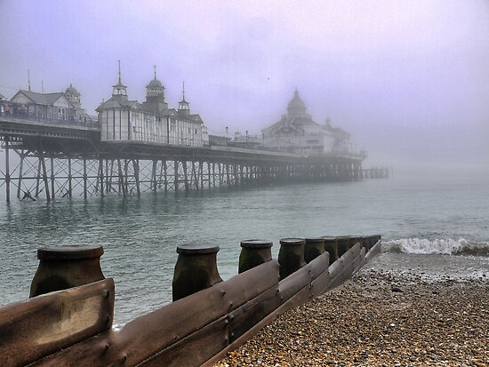 Eastbourne in the Mist (1) by Larry Lingard-Davis