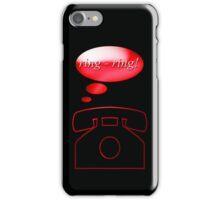 ring ring - phone, sticker, tee iPhone Case/Skin