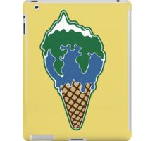 Melting earth iPad Case/Skin