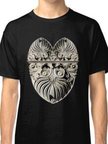 Ornate Italian Scroll face heart Classic T-Shirt