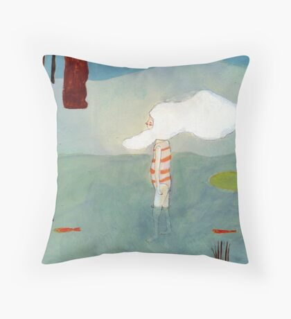 quilpo2 Throw Pillow