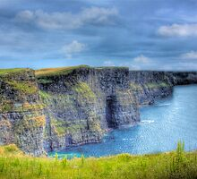 The Cliffs Of Moher - South West Ireland by Mark Richards